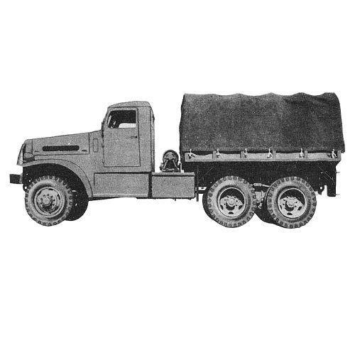 TRUCKS, PAPERPRINT WWII MILITARY VEHICLE MANUALS